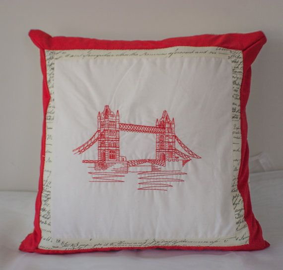Letters from London Tower Bridge Double Sided by MissSaturnDesigns