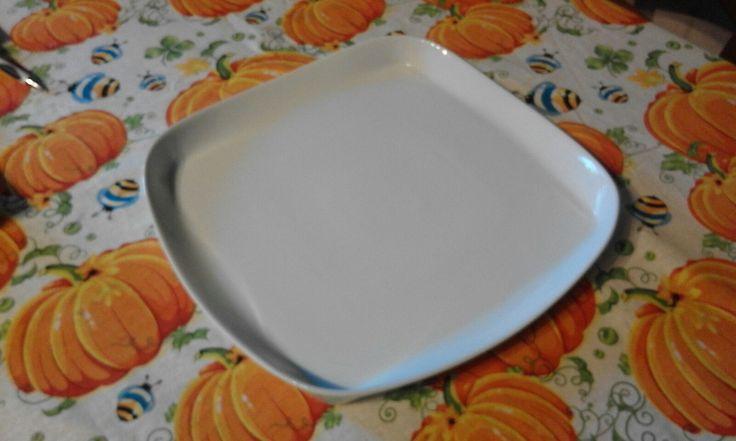vassoio quadrato da buffet disponibile la misura cm 46x46 euro 25 cm 40x40 euro 23 cm 33,2x33,2 euro 15 in porcellana