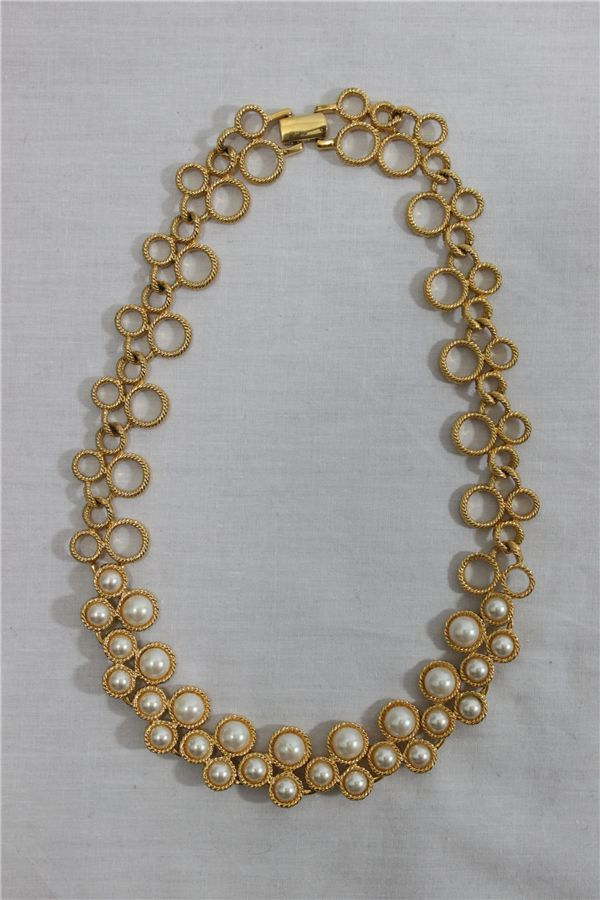 images of Napier jewelry | Faux pearl Napier necklace :: GiGi Vintage