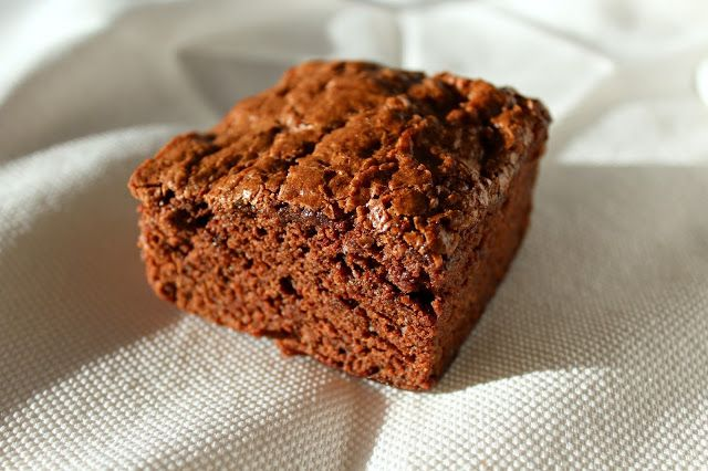 Zucchini brownies that are moist and fluffy. Delicious and nutritious!