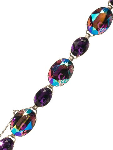 Oval Cut Crystal Line Bracelet - Clearance in Northern Lights by Sorrelli - (http://www.sorrelli.com/products/BCR20ASNL)
