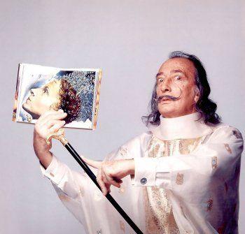 Salvador Dali by Francesco Scavulli, 1973