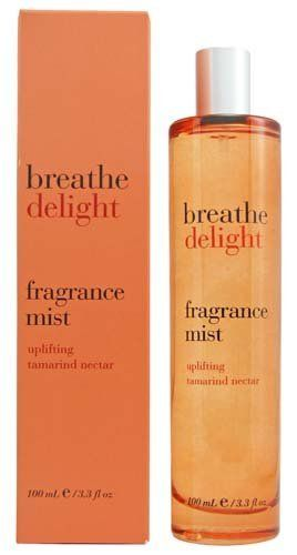 Bath & Body Works Breathe Delight Uplifting Tamarind Nectar Fragrance Mist 3.3 oz (100 ml) by Bath & Body Works. $27.50. Manufacturer Retailed Boxed. Bath and Body Works Breathe Collection. Heavy & Elegant Glass 3.3 oz Spray Bottle. Manufacturer Discontinued Item and Scent. Uplifting Fragrance of Lush Tamarind, Sweet Peach, and Kaffir Lime. Bath & Body Works Breathe Delight Uplifting Tamarind Nectar Fragrance Mist 3.3 oz (100 ml)  Breathe deeply. Scented with lush tam...