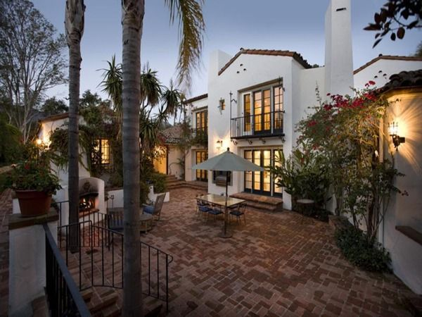 Spanish style villa: George Washington, Spanish Villas, Style Villas, Brick Patio, Dreams House, Spanish Revival, Spanish Style, Spanish Colonial, Spanish Architecture