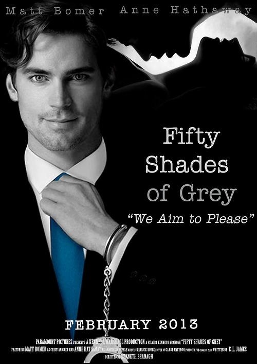 matt bomer fifty shades of grey fan made movie posters pinterest shades of grey fifty. Black Bedroom Furniture Sets. Home Design Ideas