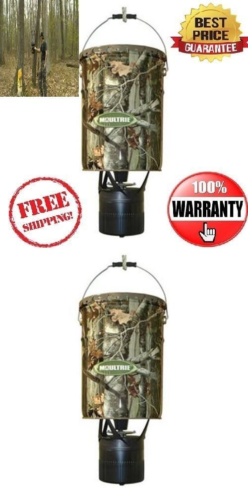 Game Feeders and Feed 52504: New Moultrie Mfh-Ep 6.5 Gallon Econo Plus Hanging Deer Feeder W/ Photocell Timer BUY IT NOW ONLY: $48.99