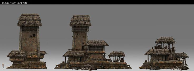 ArtStation - House1, Beng P Beng p(泵)