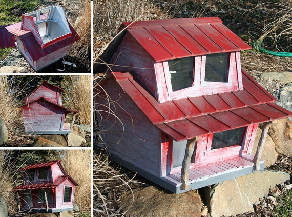 Pin By Lindsay Renee On Love Nest Heated Outdoor Cat House Cats