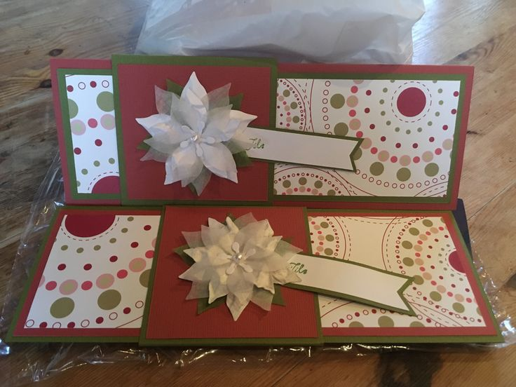 Gavekortholdere med magebelte og julestjerne 2017
