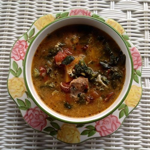 This sausage, potato, and #Kale soup #recipe from Borne Appetit looks delicious!   http://www.healthcentral.com/obesity/c/276918/170397/paleo-zuppa-toscana/?ap=2012