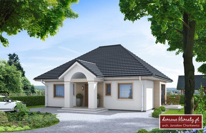 Projekt domu Azyl II NF40, wizualizacja 1