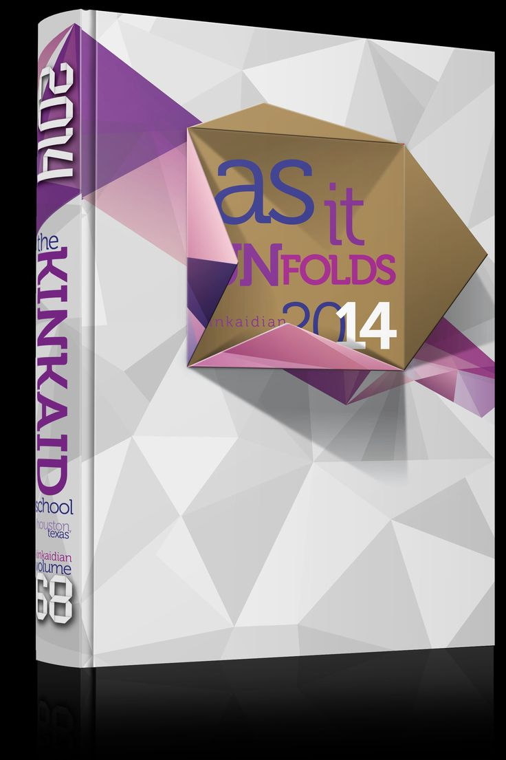 "Yearbook Cover - Unused - ""As it Unfolds"" Theme - Fold, Folding, Paper, Abstract Triangle, Low Poly, Low Polygon, Interactive, Yearbook Ideas, Yearbook Idea, Yearbook Cover Idea, Book Cover Idea, Yearbook Theme, Yearbook Theme Ideas"
