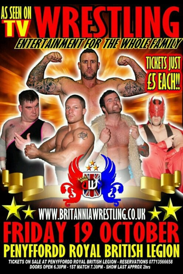 Wrestling action at its best! Grab your tickets early