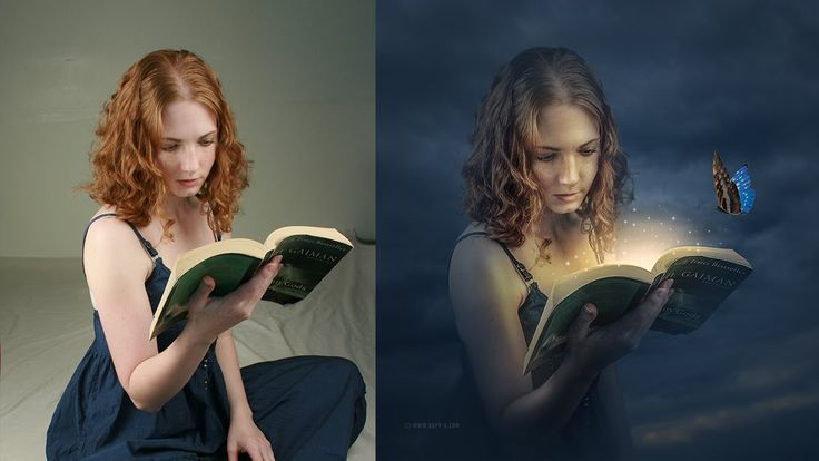 Fantasy Book Manipulation Effects Photoshop Tutorial