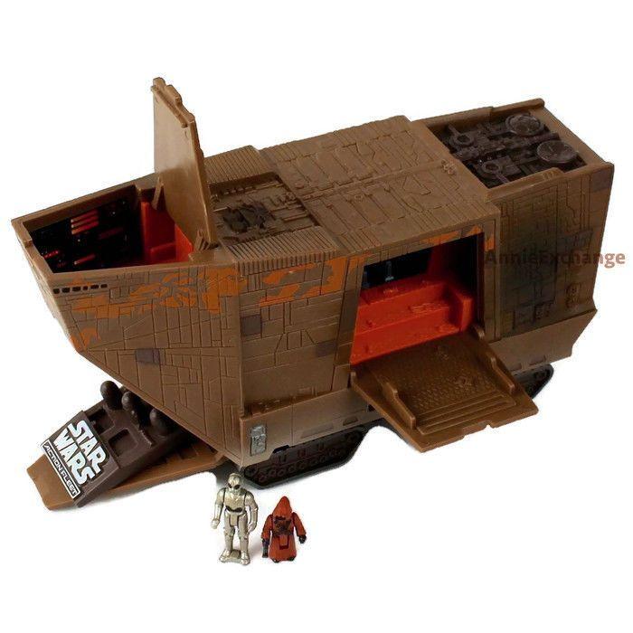 Star Wars; Micro Machines JAWA SANDCRAWLER Vehicle 1996 Galoob - Complete #Kenner