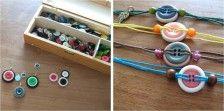 Knoop sieraden: armbanden en kettingen