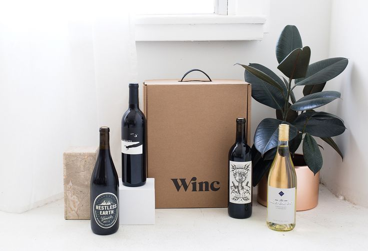 Show us your wine delivery on social to be featured on our wine delivery board! #DrinkWinc