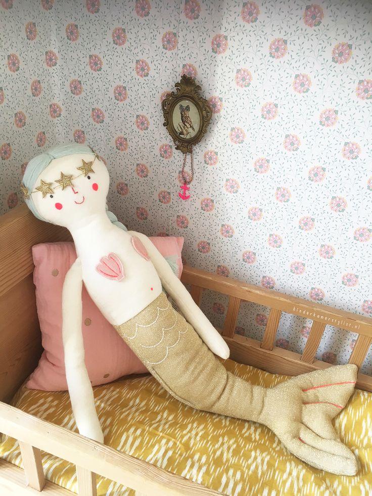 De mooiste #zeemeermin #mermaid | Kinderkamerstylist.nl