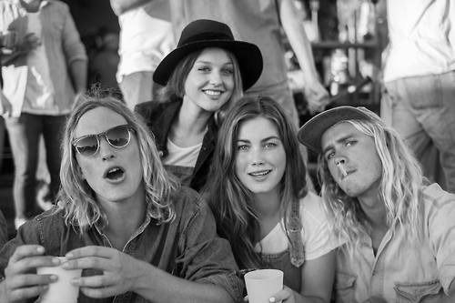 Puberty Blues Australian series based in the 70s, about teenagers and Australian surf culture