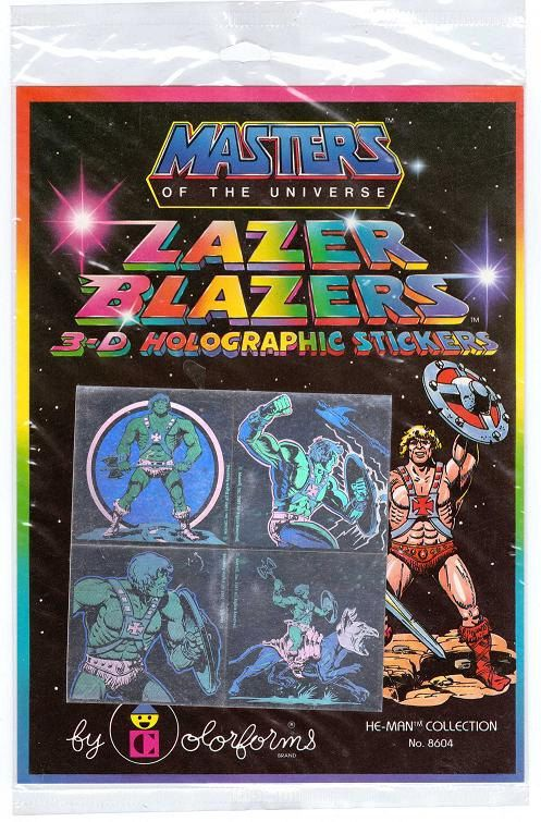 Masters of the Universe He-Man Lazer Blazers