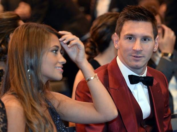 Fifa Ballon d'Or: Lionel Messi wears a red suit, Cristiano Ronaldo in tears and WAGs including Antonella Roccuzzo and Irina Shayk - News & C...