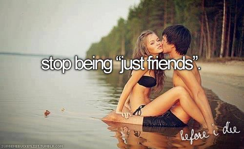 """Stop being """"just friends"""" ✔️"""