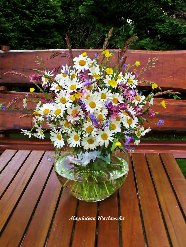 Daisies bouquet. www.facebook.com/dekoracjewnetrz www.mwa798.wix.com/mdecor1979