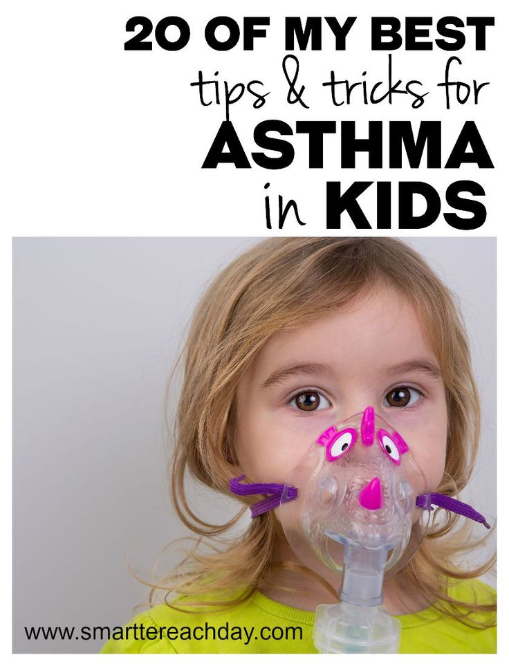 20 Of My Best Tips For Treating Asthma In Children