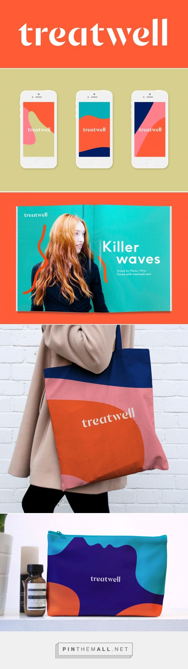 Brand New: New Name, Logo, and Identity for Treatwell by DesignStudio - created via