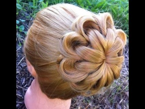 Hairstyles for long hair tutorial. 2 wedding updos - YouTube