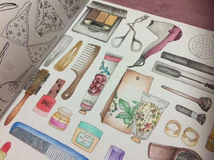 19 best Secret Paris - adult coloring book - colored pages images ...
