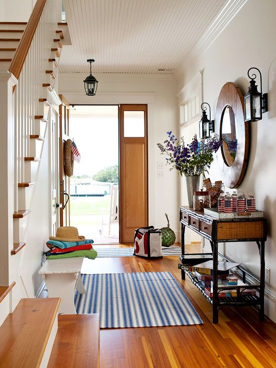 """The Most-Used Entry:While cleaning the entryway is a no-brainer, the door that most people actually use often holds an impressive, longstanding collection of fingerprints and boot marks. You look at it so often, you don't really see it. """"It's in one of the most visible, high-traffic places, but it's often the most neglected,"""" says Magic Mops' Roth."""
