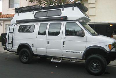 ford sportsmobile 4x4 | 2001 Sportsmobile Cruisertop 4X4