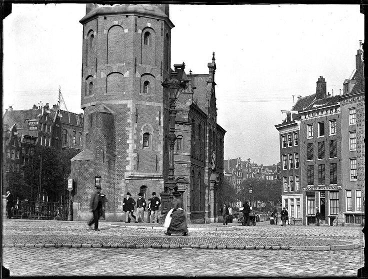 Muntplein, Amsterdam 1895. Foto: Jacob Olie
