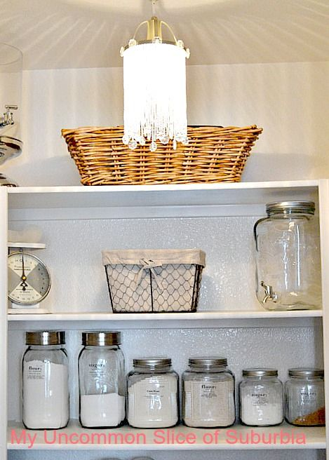 step-by-step kitchen pantry organizing