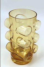 'Pablo' art glass vase designed by Erkkitapio Siiroinen for Riihimäki Lasi Oy, Finland