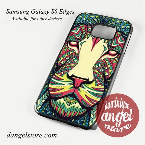 lion aztec Phone Case for Samsung Galaxy S3/S4/S5/S6/S6 Edge Only $10.99