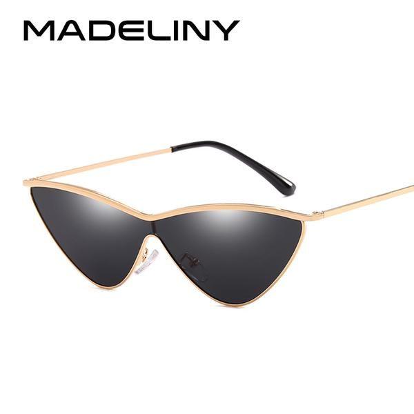 #FASHION #NEW MADELINY 2018 Fashion Women Cat Eye Sunglasses New Luxury Gradient Lens Sun Glasses Brand Design For Women Shades UV400 MA144