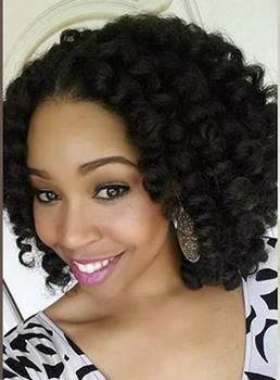 Hot Sale Medium Curly Lace Front Human Hair Wig 16 Inches