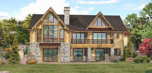 Lakefront Home Designs Lakefront Homes Lake House Plans Log Home Floor Plans