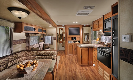 Wildwood Travel Trailer Very Similar To Our New Camper Travel Trailers Pinterest Travel