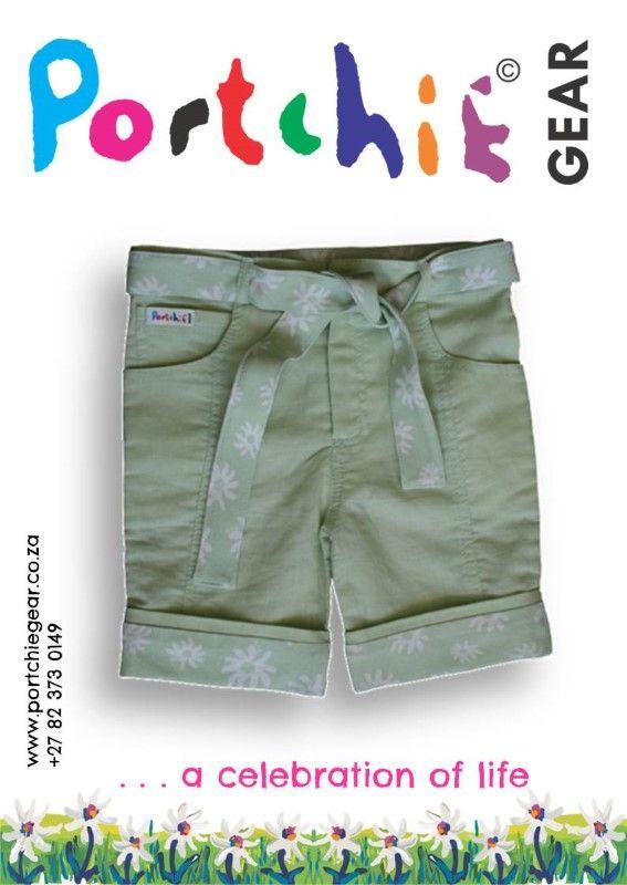 Girls #shorts by #portchiegear - www.portchiegear.co.za