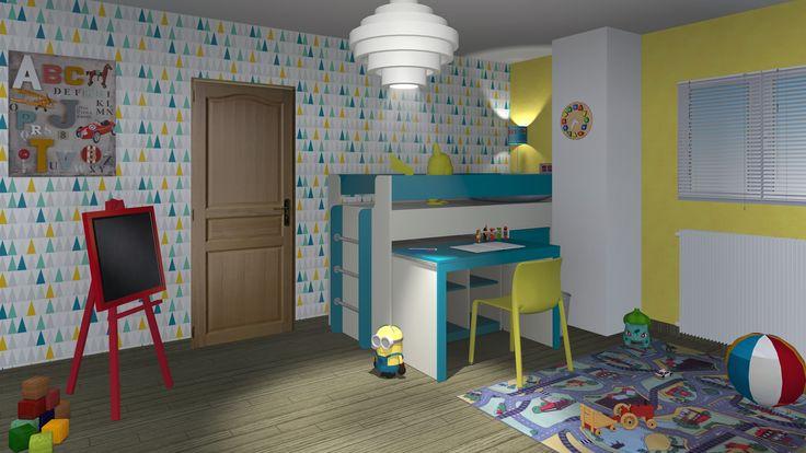 1000 ideias sobre lit mezzanine avec bureau no pinterest for Bureau coulissant adulte