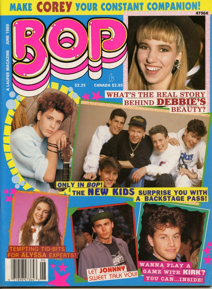 BOP Magazine June 1989 New Kids, Johnny Depp, Patrick Swayze etc | eBay  LimitedEditionComic.com
