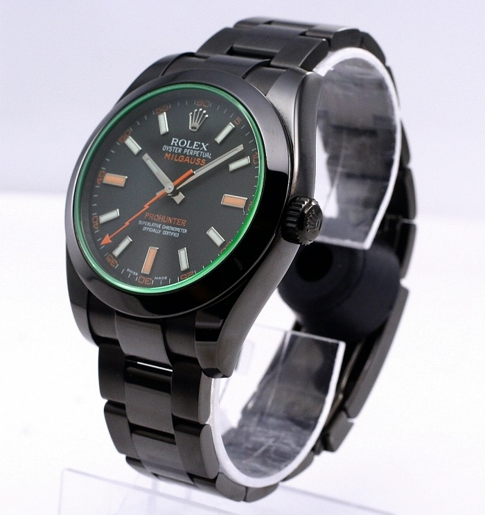 PRO HUNTER Rolex Milgauss. Limited Edition of 100. A snip at only £10, 950