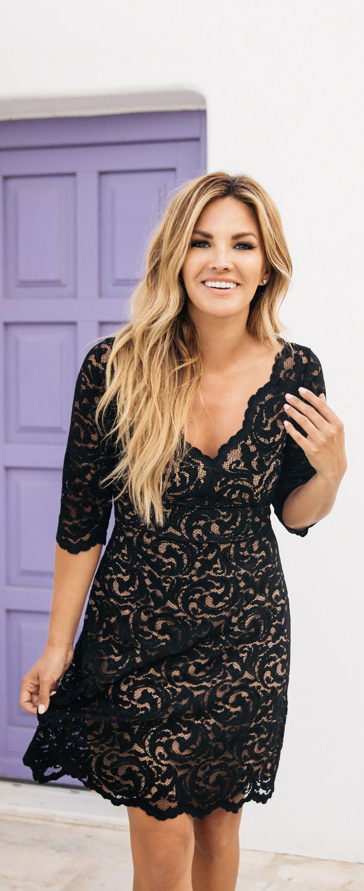 The perfect dress for any occasion. [pictured on Becca Tilley]