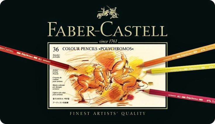 Coloured pencils POLYCHROMOS 36, 60, 120 colors Faber-Castell 4 version | eBay