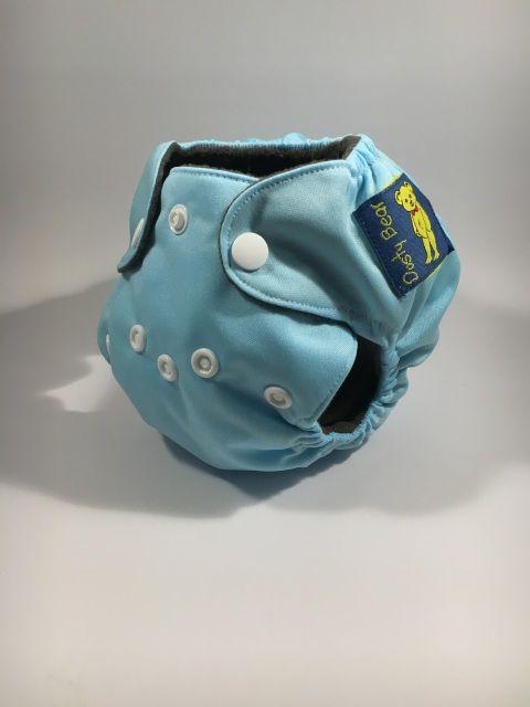 Blue - Premature Modern Cloth Nappy