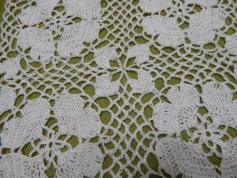 ▶ Petalos de Corazon Crochet - YouTube