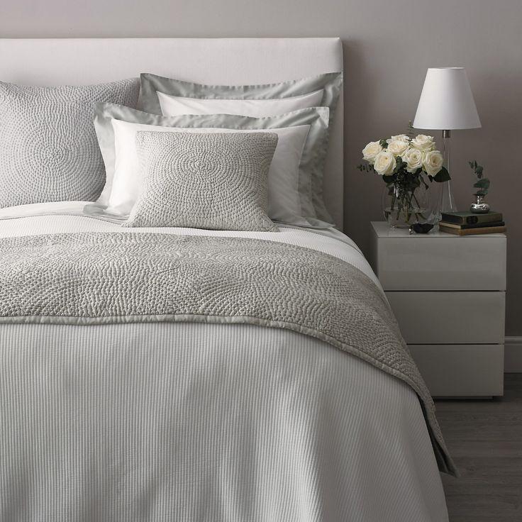 Genoa Bed Linen Collection - Eucalyptus   The White Company